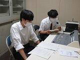 放送による生徒総会